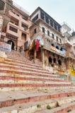 Chousatti Ghat in Varanasi Royalty Free Stock Photography
