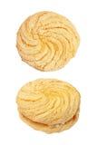 choux сливк или печенье choux изолированное на белизне Стоковые Изображения RF