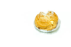 Choux cream Stock Images