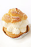 Choux Cream Stock Photo