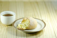 Choux Cream or cream puff Royalty Free Stock Image