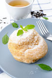 Choux cream Stock Image