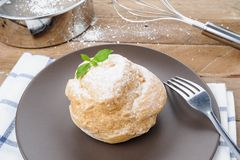 Choux cream Royalty Free Stock Photography