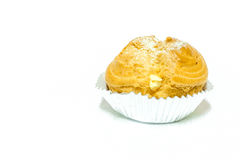 Choux cream Royalty Free Stock Image