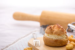 Choux Cream Puffs Royalty Free Stock Image