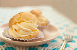 Choux cream Royalty Free Stock Photo