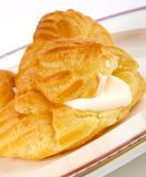 Choux pastry Stock Image