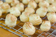 Choux pastry Stock Images
