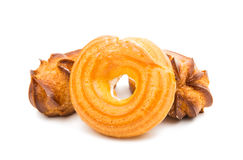 Choux pastry isolated Stock Photography