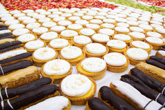 Choux pastry. Royalty Free Stock Photo