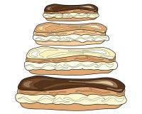 Chouxbroodjes Stock Afbeelding