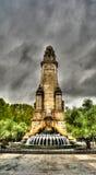 Chova a vista a Plaza de Espana no centro do Madri spain imagens de stock