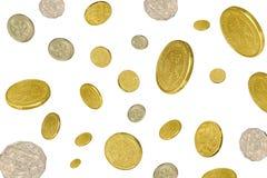 Chover do dinheiro Foto de Stock Royalty Free