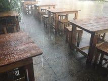 Chover fez o quate do lugar ainda Foto de Stock Royalty Free