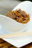 Chow βόειου κρέατος mein νωπογραφία Al Στοκ εικόνες με δικαίωμα ελεύθερης χρήσης
