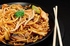 Chow κοτόπουλου mein Στοκ εικόνες με δικαίωμα ελεύθερης χρήσης