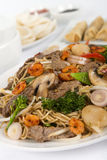 Chow Mein Imagens de Stock Royalty Free