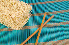 Chow Mein noodles Stock Images