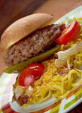 Chow mein sandwich Stock Photography