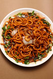 Chow Mein Shimp Stock Image
