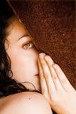 chowana kobieta Zdjęcie Royalty Free