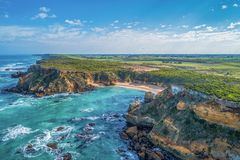 Chowani klejnoty Wielka ocean droga w Australia obraz royalty free