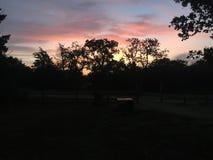 chowany wschód słońca Obraz Stock