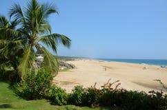 Chowara Beach, Kovalam, Kerala, India. A view of Chowara Beach in India on a beautiful sunny day Royalty Free Stock Image
