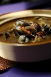 Chowder della minestra del mollusco Fotografia Stock Libera da Diritti