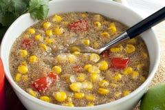 Chowder di cereale dell'amaranto Fotografia Stock Libera da Diritti