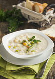 Chowder with rice and vegetables Stock Photography