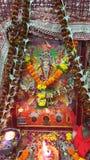 Chowki hindú del ki de Mata de la adoración Imagen de archivo libre de regalías