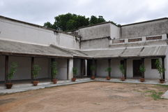 Chowmahalla宫殿在海得拉巴,印度 免版税库存图片