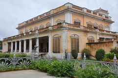 Chowmahalla宫殿在海得拉巴,印度 库存照片