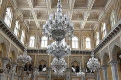 Chowmahalla pałac, Hyderabad, India fotografia royalty free