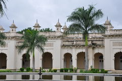 Chowmahalla Palace in Hyderabad, India Royalty Free Stock Photo