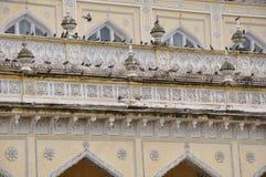 Chowmahalla slott i Hyderabad, Indien Arkivfoto