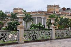 Chowmahalla slott i Hyderabad, Indien Fotografering för Bildbyråer