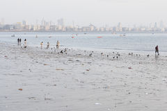 Chowpatty beach Royalty Free Stock Photography