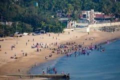 Chowpatty Beach in Mumbai Royalty Free Stock Photos