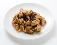 Choyela picante da galinha, choila Imagens de Stock Royalty Free