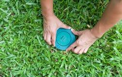 Choyez le système d'amorce de termite de puttine de contrôle dedans à la terre Photographie stock