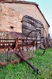 Choza agrícola vieja Fotos de archivo libres de regalías