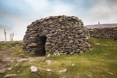 Choza antigua Irlanda de la colmena Foto de archivo libre de regalías
