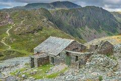 Choza de la montaña Foto de archivo libre de regalías