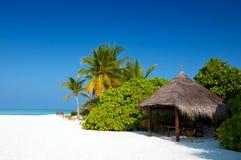 Choza de la playa Foto de archivo