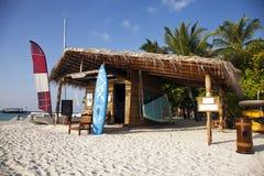 Choza de la playa Imágenes de archivo libres de regalías
