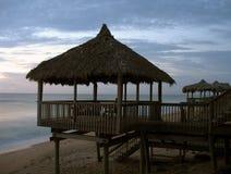 Choza de la playa de la Florida Imágenes de archivo libres de regalías