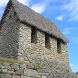 Choza de Machu Picchu Imágenes de archivo libres de regalías