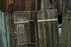 Choza de madera Imagen de archivo